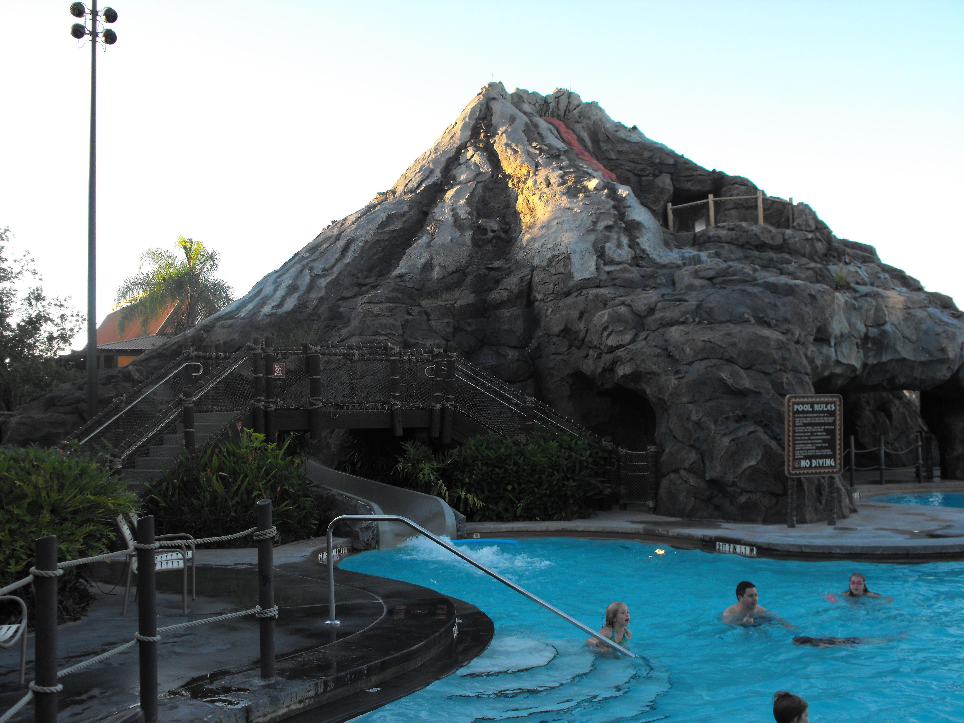 Room Service At Polynesian Resort
